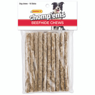 Westminster Pet 03173 Rawhide Munchy Play Stick 10Ct