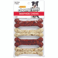 Westminster Pet 03180 Rawhide Munchy Asst 4In 4Ct