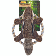 Westminster Pet 16269 Toy Plush Chipmunk Rope Ring