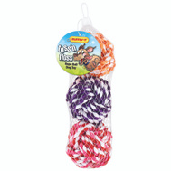 Westminster Pet 18213 Toy Pet Rope-Ball 3Ct