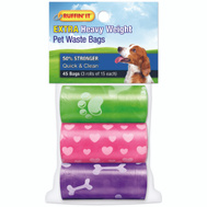 Westminster Pet 19347 Bag Dog Waste Refill 45Ct/3Rll