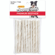 Westminster Pet 23133 Rawhide Twist Stick 5 Inch 25Ct