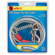 Westminster Pet 7N29620 Tie-Out W/Csh Sprg 4 200 Pound 20Ft