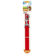 Westminster Pet 7N31166 Leash Nyln Red 3/4X72in
