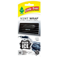 Car Freshner CTK-52231-24 4PK BLK Ice Vent Wrap
