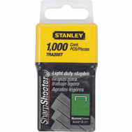 Stanley Tools TRA204T Staples 1/4 Inch Light Duty Box Of 1000