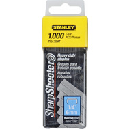 Stanley Tools TRA704T Staple 1/4 Inch Heavy Duty Box Of 1000