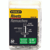 Stanley Tools PAA52-5B Aluminum Rivets 5O Pack