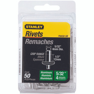 Stanley Tools PAA58-5B Aluminum Rivets 5O Pack