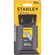 Stanley Tools 11-921A Wall Mount Utility Knife Blade Dispenser With 100 Heavy Duty Blades