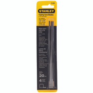 Stanley Tools 15-059 6-1/2 Inch Coping Saw Blades Pack Of 4