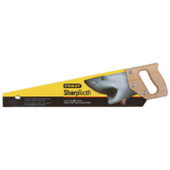 Stanley Tools 15-335 Sharptooth 20 Inch Blade 8 Inch Point Handsaw