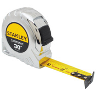 Stanley Tools STHT30160W Tape Measure 30Ft Chrome