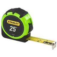 Stanley Tools 30-305 25 Foot By 1 Inch High Visibility Tape Rule