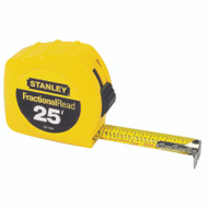 Stanley Tools 30-454 25 Foot By 1 Inch Tape Rule Fractional