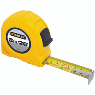 Stanley Tools 30-456 Stanley Tape Rule 1 Inch Blade Width By 26 Foot