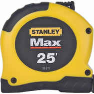 Stanley Tools 33-279 Max 25 Foot By 1 1/8 Inch Tape