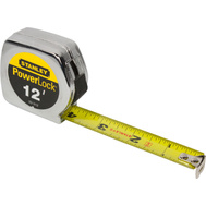 Stanley Tools 33-312L Powerlock 3/4 Inch By 12 Foot Tape Rule