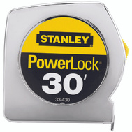 Stanley Tools 33-430 Powerlock 30 Foot By 1 Inch Measuring Tape