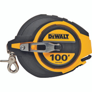 Stanley Tools DWHT34036 DeWalt Rule Tape 100Ftx3/8In Clsed Cs