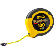 Stanley Tools 34-130 FatMax 3/8 Inch By 100 Foot Stainless Steel Tape