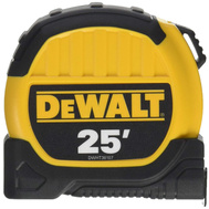 Stanley Tools DWHT36107S DeWalt 25 Foot By 1-1/8 Inch SAE Tape Measure 10 Foot Standout