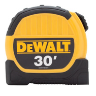 Stanley Tools DWHT36109 DeWalt 1-1/8 Inch By 30 Foot Durable Tape Measure With 10 Foot Standout