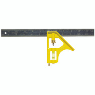 Stanley Tools 46-123 12 Inch Combination Square Contractor Grade