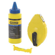 Stanley Tools 47-443 100 Foot Chalk Line Reel With Chalk And Line Level