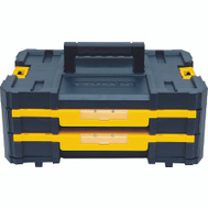 Stanley Tools DWST17804 DeWalt Tool Box Drawer Tstak Double Shallow Drawers