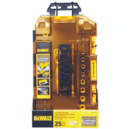 Stanley Tools DWMT73805 DeWalt Socket Set 1/4 Drive Tough Box