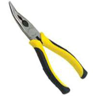 Stanley Tools 89-871 Max Steel 6.4 Inch Bent Longnose Pliers With Cut