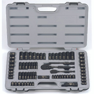 Stanley Tools 92-824 Socket Set 69Pc Black Chrome