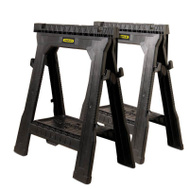 Stanley Tools 060864R Folding Sawhorses Twin Pack