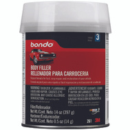 3M 261 Bondo 1 Pint Bondo Auto Body Filler