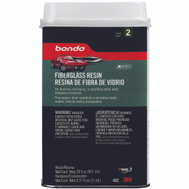 3M 402 Bondo 1 Quart Fiberglass Resin With Cap