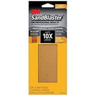 3M 11320-G-6 Sand Blaster Between Coat Sandpaper 320 3-2/3 By 9 Inch 6 Pack