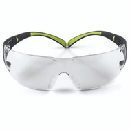 3M SF400C-WV-6-PS Secure Fit BLK/GRN Safety Glasses