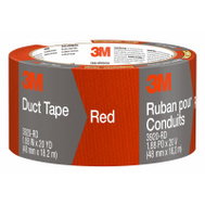 3M 3920-RD Scotch Red Multi Purpose Duct Tape Waterproof Backing 2 Inch By 20 Yards