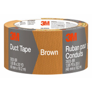 3M 3920-BR Scotch Brown Multi Purpose Duct Tape Waterproof Backing 2 Inch By 20 Yards