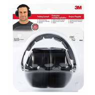3M 90563-5DC Folding Noise Reduction Earmuff Black