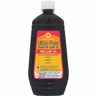 Lamplight Farms 60012 Ultra Pure 32 Ounce Red Ultrapure Lamp Oil
