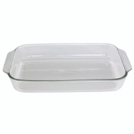 Anchor Hocking 81938AHG17 5 Quart Baking Dish, Crystal Clear