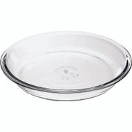 Anchor Hocking 82638L11 Oven Basics Harold Import Glass Pie Plate