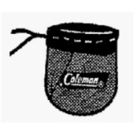 Coleman 3000004346 #20 Lant Mantle