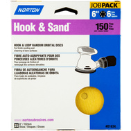 Norton 07660701634 Disc Sandg Hk/Lp 150G 25Pk 6In