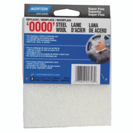 Norton 01726 Pad Steel Wool Syn Super Fine 2 Pack