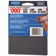 Norton 01727 Pad Steel Wool Syn Extra Fine 2 Pack