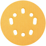 Norton 04062 Hook & Sand 5 Inch Universal 5+8 Hole Hook And Loop Sanding Disc 80 Grit Coarse 25 Pack