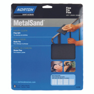 Norton 47805 Metalsand Emery Cloth Fine 9 By 11 Inch